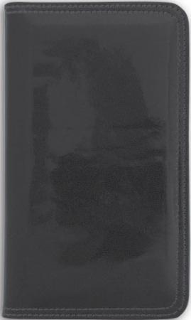 Визитница настольная, блок 96 визиток, 237х125 мм, кожзам, черная ICC96/1/BK визитница настольная зенит