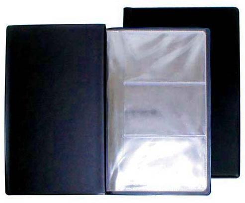 Визитница Panta Plast 03-0210-2/Черн 60 шт черный кофеварка polaris pcm 0210 450 вт черный