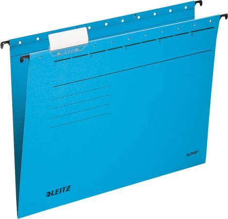 Подвесные папки Leitz ALPHA Стандарт, А4, синий, упк/25шт, цена за 1 штуку 19850035 nume синий стандарт сша