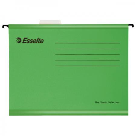 Подвесная папка ESSELTE PENDAFLEX ECO, ф.А4, 25 шт, зеленый, цена за 1шт 90318