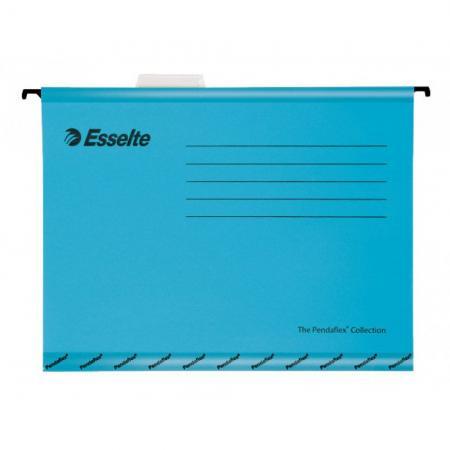 Подвесная папка ESSELTE PENDAFLEX PLUS FOOLSCAP, 25 шт, синий, цена за 1шт 90334