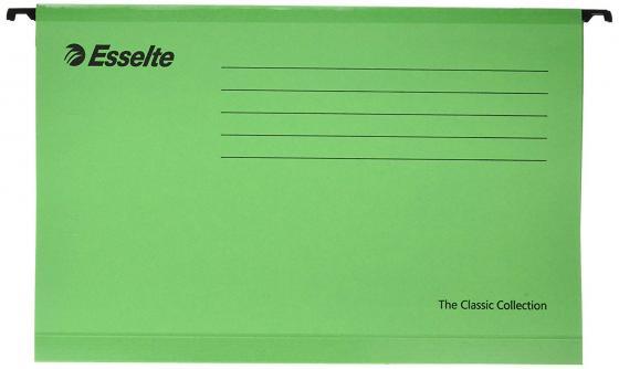 Подвесная папка ESSELTE PENDAFLEX PLUS FOOLSCAP, 25 шт, зеленый, цена за 1шт 90337