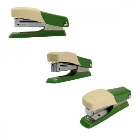Мини-степлер FUSION, скоба № 10, на 10 листов, зеленый/желтый IFS705GN/YL ламинатор gbc fusion 1000l a4 black