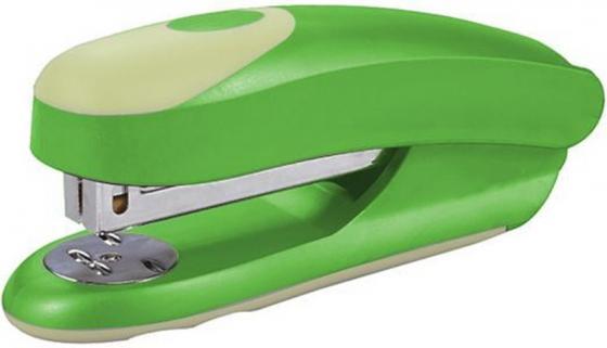 Степлер FUSION, скоба № 24/6, на 20 листов, зеленый/желтый IFS715GN/YL степлер index ims310 gy 20 листов