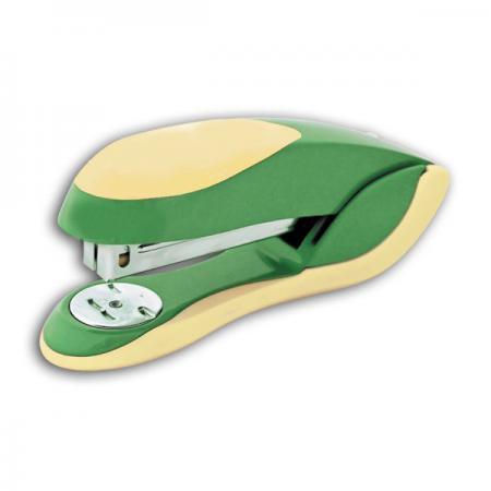 Степлер FUSION, скоба № 24/6, на 20 листов, металлический корпус, зеленый/желтый IFS720GN/YL степлер index ims310 gy 20 листов