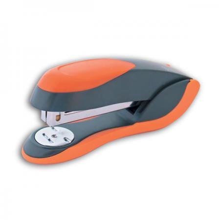 Степлер FUSION, скоба № 24/6, на 20 листов, металлический корпус, серый/оранжевый IFS720GY/OR степлер скоба 24 6 на 20 листов металлический корпус черный ims310 bk