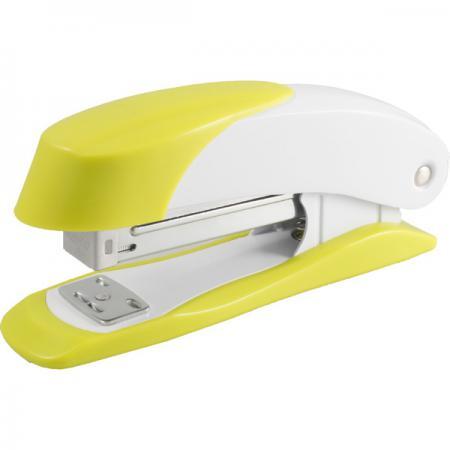 Степлер Н400, скоба №24/6, сшивает до 20 листов, желтый 2630125 степлер н2101 скоба 24 6 сшивает до 20 листов синий 2631602