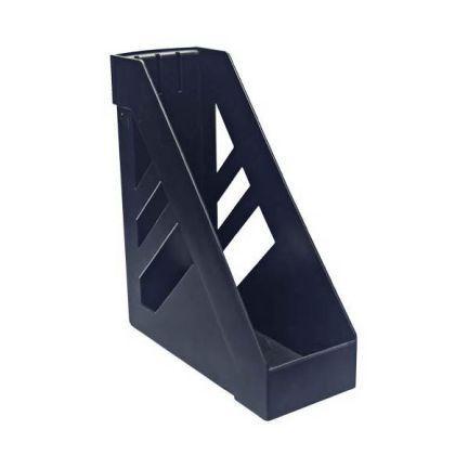 Лоток для бумаг СТАММ УЛЬТРА, вертикальный, черный ЛТ02 лоток inформат вертикальный черный