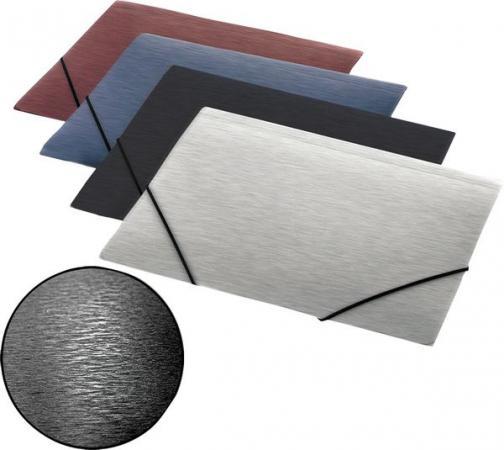 Папка на резинках SIMPLE, ф.А4, черный, материал PP, плотность 600 мкр 0410-0057-01