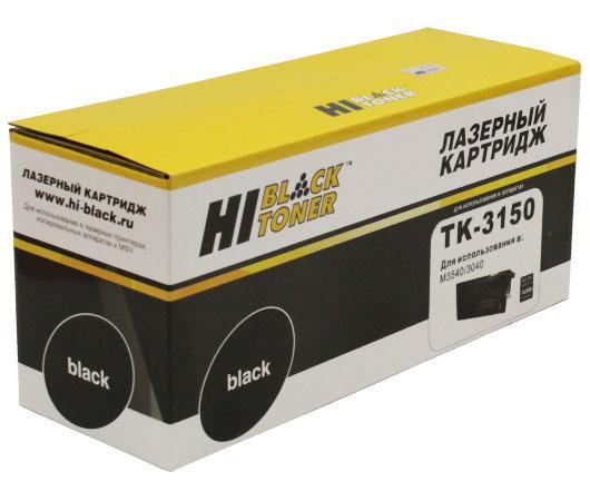 Фото - Картридж Hi-Black TK-3150 для Kyocera ECOSYS M3040idn/M3540idn 14500стр Черный hi black tk 6115 картридж для kyocera ecosys m4125idn m4132idn 15k