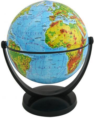 цена Глобус физический, 10.6 см, с экваториальным креплением, в блистерной упаковке RG106/PH/EF