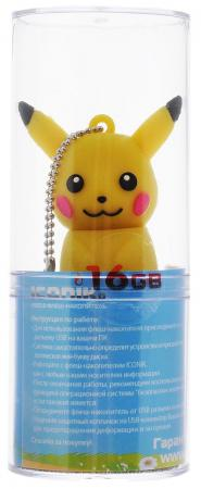 Флешка USB 16Gb ICONIK Покемон Пикачу RB-PIKACHU-16GB флешка usb 16gb iconik овечка rb sheepi 16gb