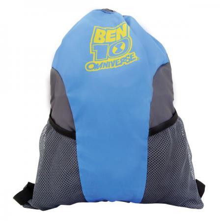 Мешок-рюкзак для обуви BEN10, разм. 43х34cm, с карманом на молнии BT-ASS4008/1 игра для ps3 ben 10 omniverse