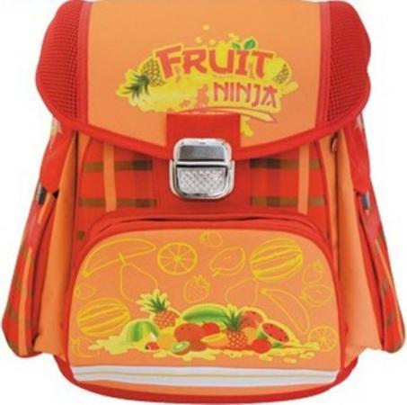 Ранец с рельефной спинкой Action! FRUIT NINJA красный оранжевый FN-ASB2019/5 пенал на одно отделение action fruit ninja fn apc0107 6 fn apc0107 6