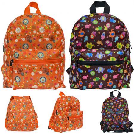 Дошкольный рюкзак Action! Рюкзак детский. черный оранжевый принт АКВ0013 AKB0013 цена и фото