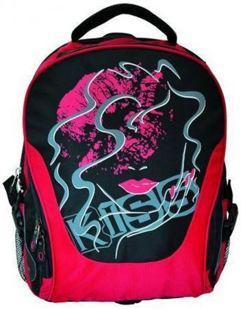 Школьный рюкзак с отделением для ноутбука Action! красный черный рисунок AB11061 рюкзак action мягкий 37х29х15см черный
