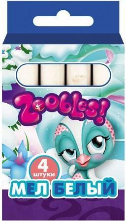 Мелки школьные Action Zoobles 4 штуки 1 цвет от 3 лет ZB-CW-4 zoobles twobles starfish