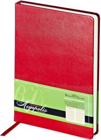 Ежедневник недатированный Bruno Visconti Megapolis A5 бумвинил 3-281/04 блокноты bruno visconti блокнот а5 megapolis flex