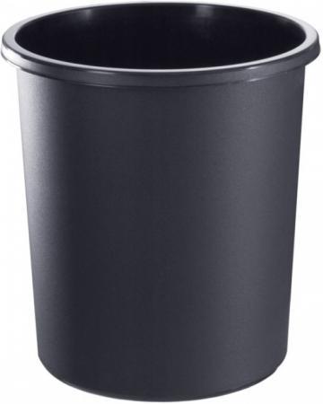 Корзина для бумаг СТАММ КР41 18л черная корзина для бумаг стамм кр01 18 черная