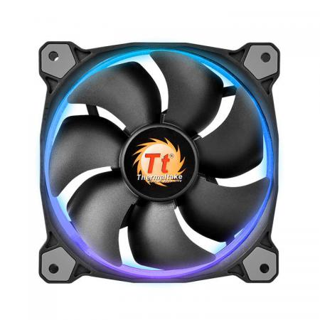 Вентилятор Thermaltake Riing 14 140x140x25 4pin 28.1dB 256 Color CL-F043-PL14SW-B