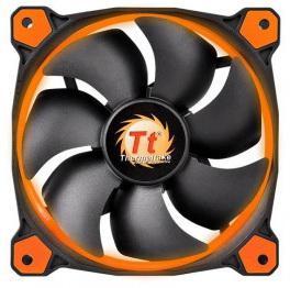 цена на Вентилятор Thermaltake Riing 14 140x140x25 3pin 22.1-28.1dB Orange + LNC  CL-F039-PL14OR-A