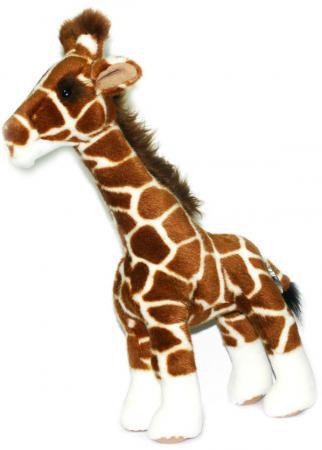 Мягкая игрушка жираф Hansa Жираф 38 см разноцветный пластик искусственный мех синтепон 1671