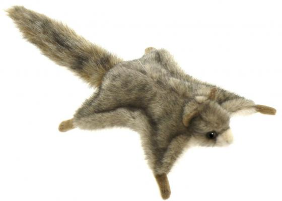 Мягкая игрушка белка Hansa Белка летяга 21 см серый искусственный мех 4116 мягкая игрушка белка hansa белка летяга искусственный мех серый 21 см 4116