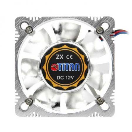 где купить  Вентилятор Titan TFD-A8025L12Z(RB) 82x82x25мм 3 pin 2000rpm  по лучшей цене