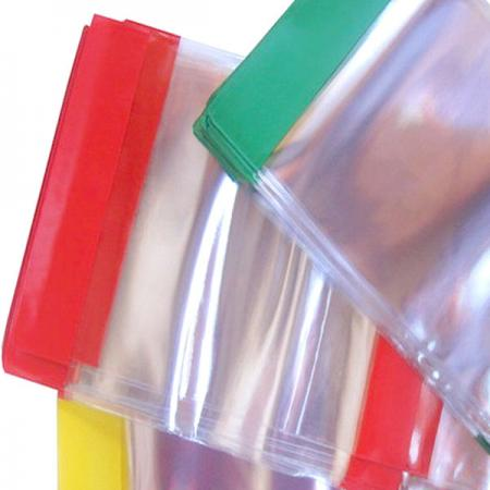 Обложка для дневника, тетради, прозр., ПВХ, цвет. клап.,120 мкм, разм. 335х215