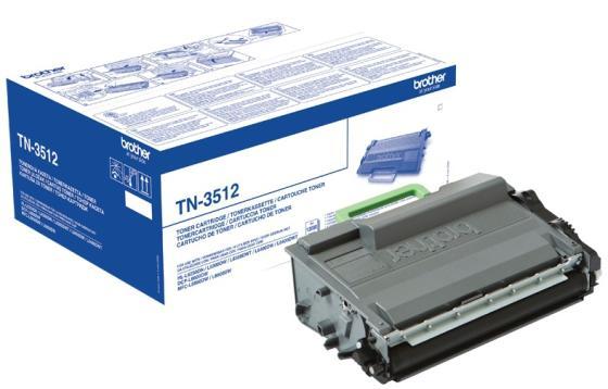 Тонер-картридж Brother TN3512 для HL-L5000D/5100DN/5200DW/6300DW/6400DW/6400DWT/DCP-L5500DN/6600DW/MFC-L5700DN/5750DW/6800DW/6900DW 12000стр