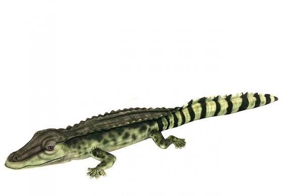 Мягкая игрушка крокодил Hansa Крокодил Филиппинский 72 см разноцветный текстиль синтепон 6572 рюкзак deuter bike compact exp 10 sl blueberry mint
