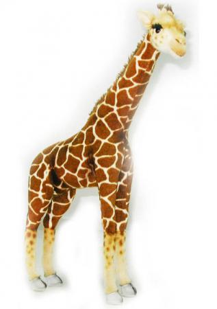 Мягкая игрушка жираф Hansa Жираф 64 см разноцветный текстиль плюш 3610