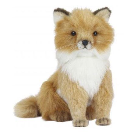 Фото - Мягкая игрушка лисица Hansa Лисица 24 см рыжий искусственный мех пластик 6996 мягкие игрушки hansa лисица сидящая 24 см