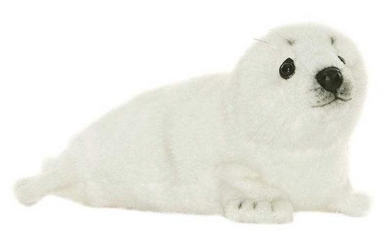 Мягкая игрушка белёк Hansa Белек 29 см белый искусственный мех 3767 мягкие игрушки hansa белек 50 см