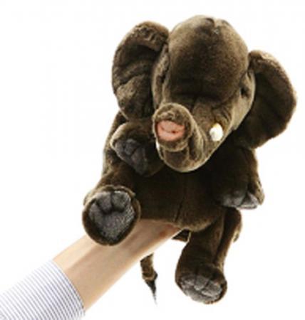 Мягкая игрушка слон Hansa 4040 24 см коричневый плюш текстиль 4567