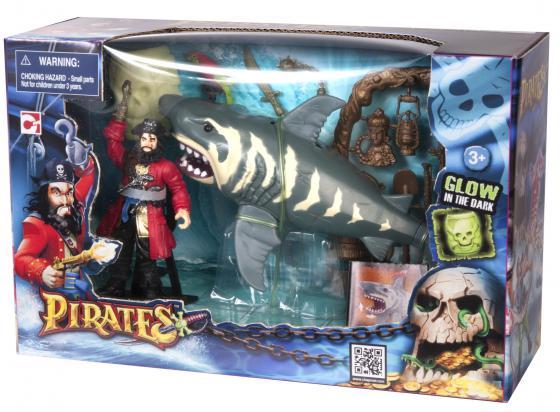 Игровой набор CHAP MEI Пираты. Нападение акулы 505210-1 игровые наборы chap mei игровой набор soldier force армейский внедорожник