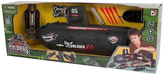 Игровой набор Chap Mei Нано-Армия. Подводная лодка с наполнением (звук, свет) 524052 утюг mystery mei 2212
