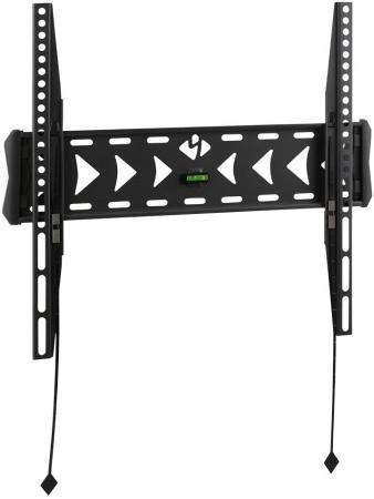 Кронштейн Kromax FLAT-3 22-65 VESA min 50x50 max 400x400 черный 55кг itech lpa33 443 vesa 400x400 черный