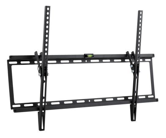 Кронштейн Kromax IDEAL-2 new Black, настенный для TV 32-90, max 55 кг, 1 ст св., нак. 0°-10°, от ст. 23 мм, max VESA 600x400 мм.