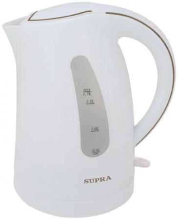 Чайник Supra KES-1721 2200 Вт белый 1.7 л пластик