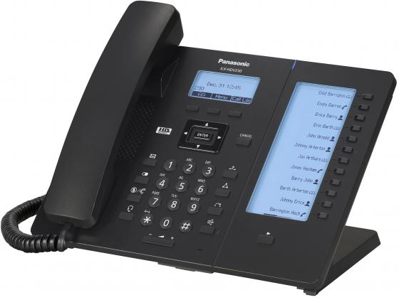 Телефон IP Panasonic KX-HDV230RUB черный voip телефон panasonic kx hdv230rub черный
