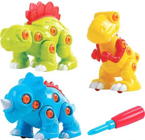 Развивающий набор PLAYGO Собери динозавра, 3 шт. 2040 набор для ванной playgo утята 2430