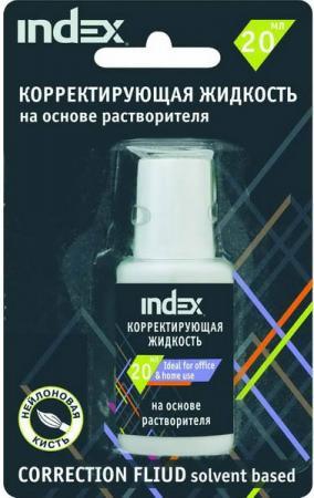 Корректирующая жидкость Index ICF20B 20 мл стоимость