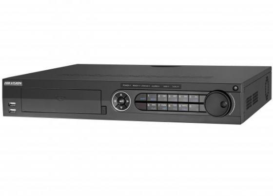 Видеорегистратор сетевой Hikvision DS-7316HQHI-F4/N 1920x1080 4хHDD HDMI VGA до 16 каналов видеорегистратор vstarcam nvr 8 ip 1920x1080 8 каналов 2xusb hdmi esata lan vga