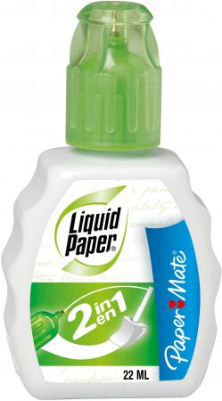 Корректирующая жидкость Paper Mate Liquid Paper 2 in 1 22 мл S0900161 g shapiro nietzschean narratives paper