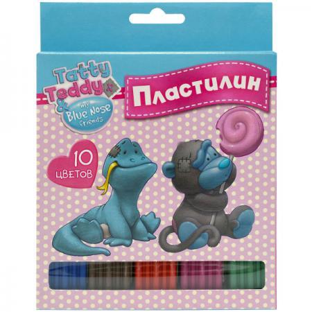 Пластилин Action! TATTY TEDDY 10 цветов BNF-AMC10-200