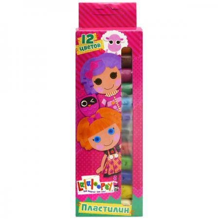 Пластилин Action! LALALOOPSY 12 цветов LL-MC12-120 кукла малютка lalaloopsy в оранжевой упаковке