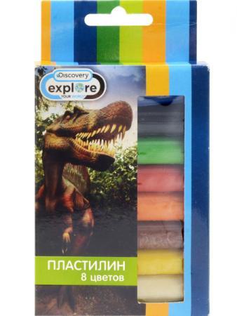 Набор пластилина Action! DISCOVERY 8 цветов DV-AMC8-110