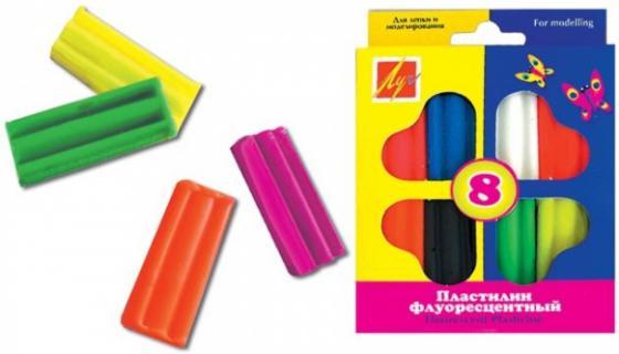 Пластилин Луч 12С765-08 8 цветов пластилин луч 12c 784 08 12с784 08 11 цветов