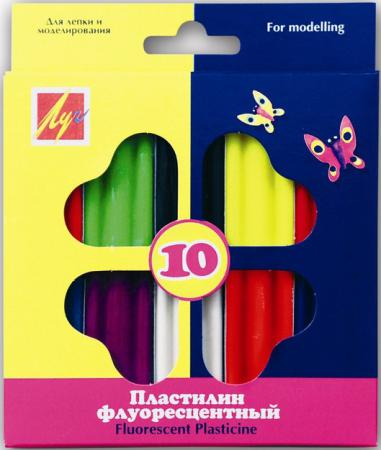 Пластилин Луч 12С766-08 10 цветов пластилин луч 12c 784 08 12с784 08 11 цветов
